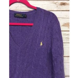 Polo by Ralph Lauren Sweaters - POLO Ralph Lauren Large Wool/Cashmere Knit  Sweater